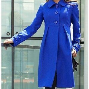 VICTORIA SECRET empire waist Wool Coat